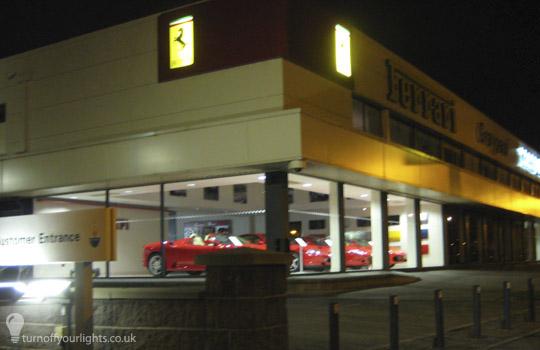Ferrari, Lenton Lane, Nottingham