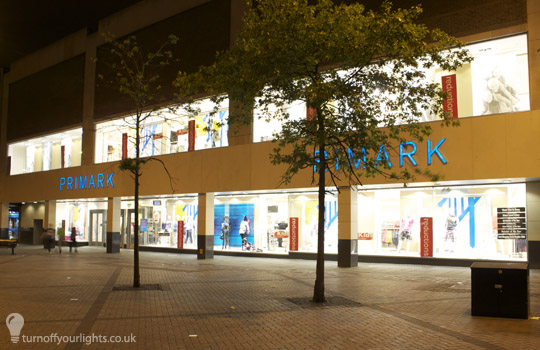 Primark in Nottingham